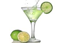 Cocktail et rondelle de citron 800X600