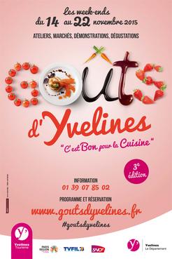 Affiche Goûts d'Yvelines 2015