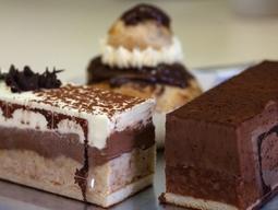 Trio de gâteaux au chocolat