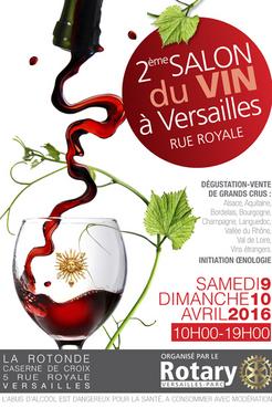 2eme Salon du vin à Versailles