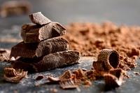 Chocolat en tablette et copeaux 800x530