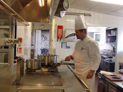 Le chef Vakhtang Meliava