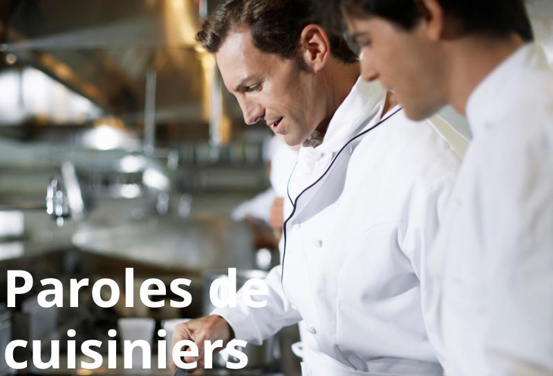 Paroles de cuisiniers