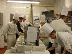 Cuisiniers en action