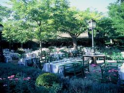 Hôtel Cazaudehore-Terrasse restaurant
