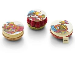 Lenôtre - Trio de macarons Toile de Jouy