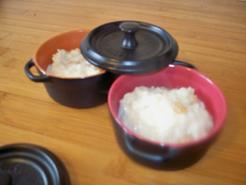 Riz au lait à l'eau de rose