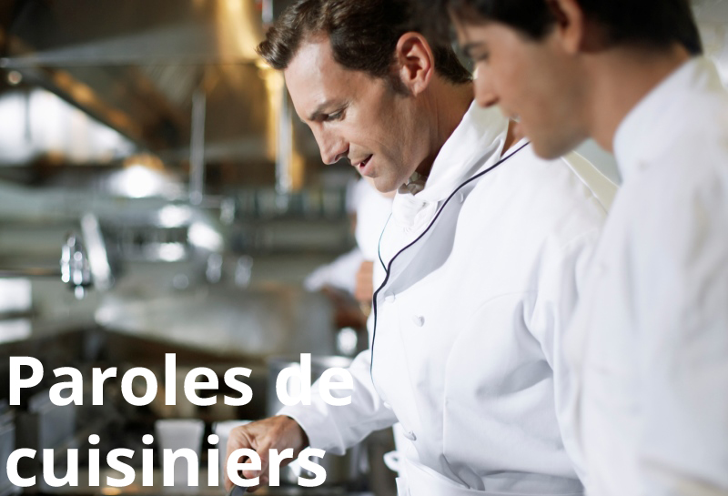 Paroles de cuisiniers